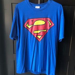 Vintage Graphitti Superman DC Comics Tee
